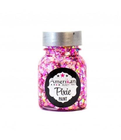 Гель блестки Pixie ирридисцентные розовые Pretty in Pink 30 мл