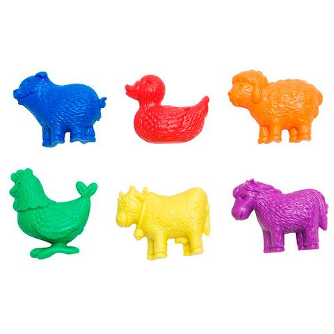 Счетный материал фигурки Домашние животные, Edx education 13200C