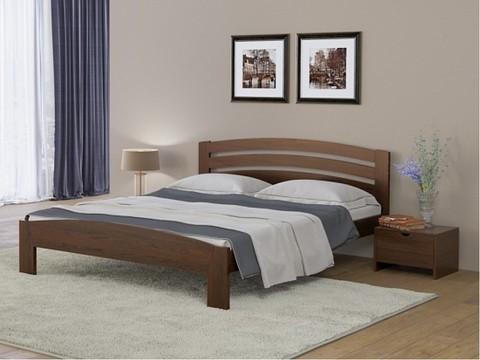 Кровать Веста 2 с основание Орех