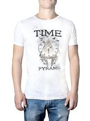 17605-1 футболка мужская, белая