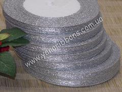 Лента парча серебрянная шириной 6 мм