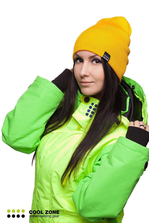 Горнолыжная шапка Cool Zone желтая