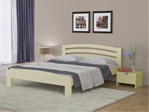 Кровать Веста 2 с основанием слоновая кость