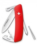 Нож перочинный SWIZA D04 75 мм 11 функций с фиксатором лезвия (D04RED)