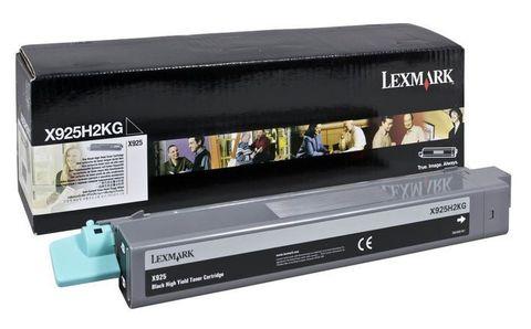 Картридж для принтеров Lexmark X925de черный (black). Ресурс 7500 стр (X925H2KG)