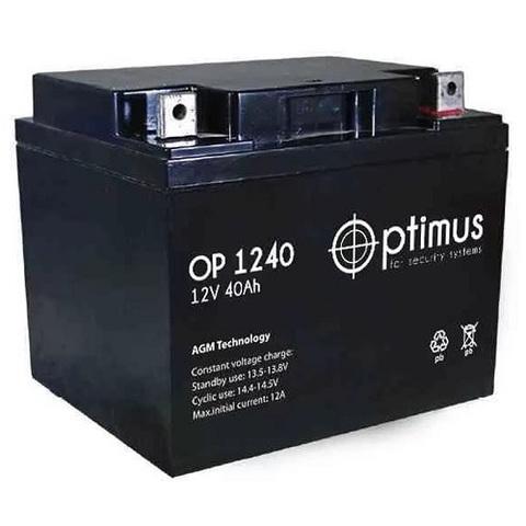 OP 1240 аккумулятор 12В/40Ач Optimus