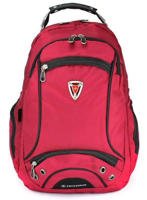 Городской рюкзак SWISSWIN 1565 красный