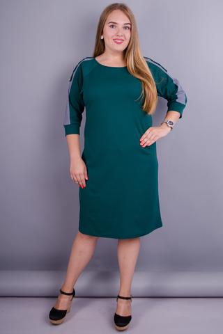 Инесса. Платье на каждый день для дам с пышными формами. Бутылка.