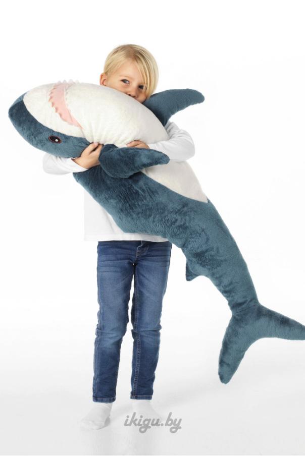 """Мягкие игрушки и подушки Подушка """"Акула"""" 100см shark3.jpg"""