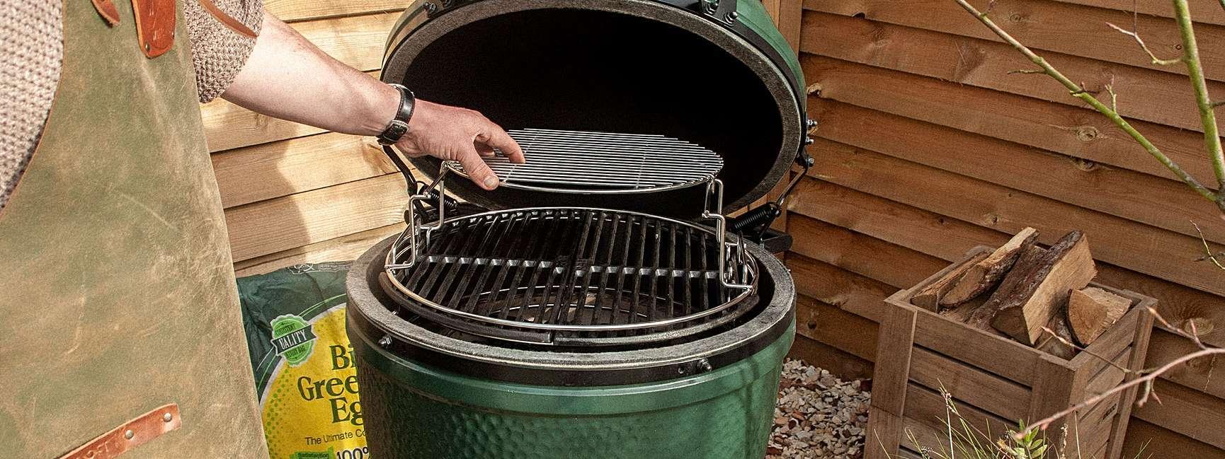 Купить Решётка мультиуровневая стальная для гриля Big Green Egg L ...