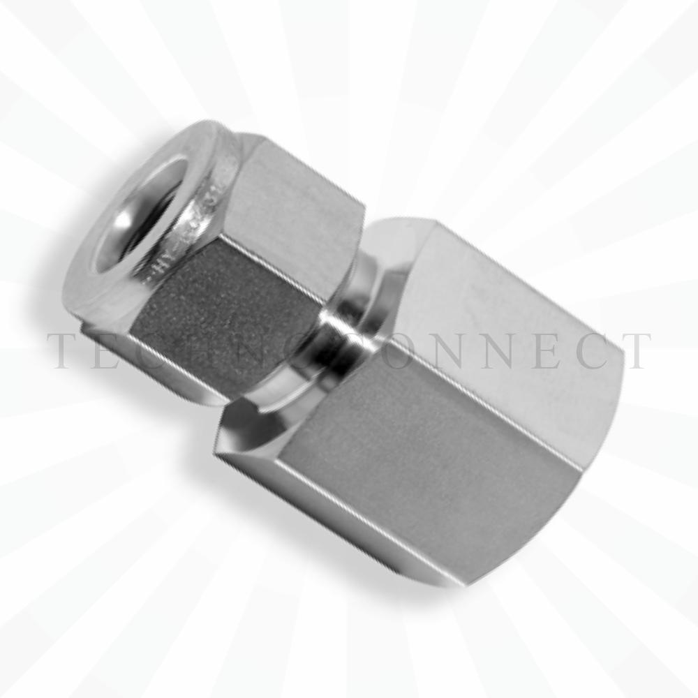 CGC-4-4G  Штуцер прямой: дюймовая трубка 1/4