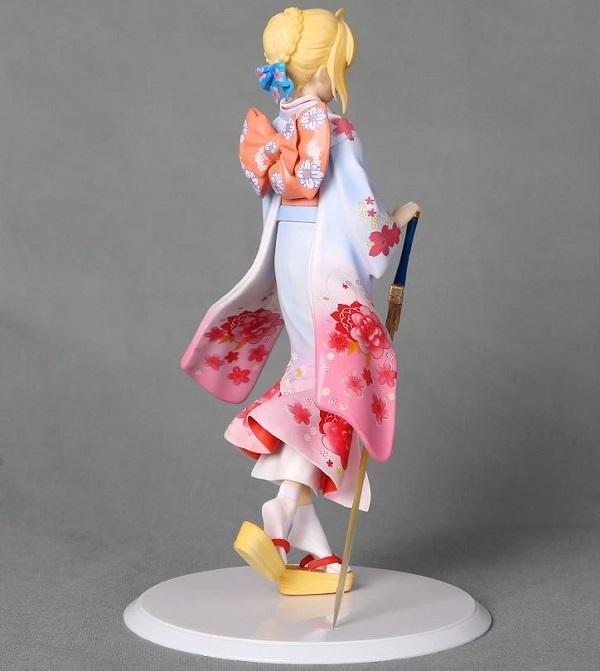 Судьба Аниме статуэтка Сейбер кимоно