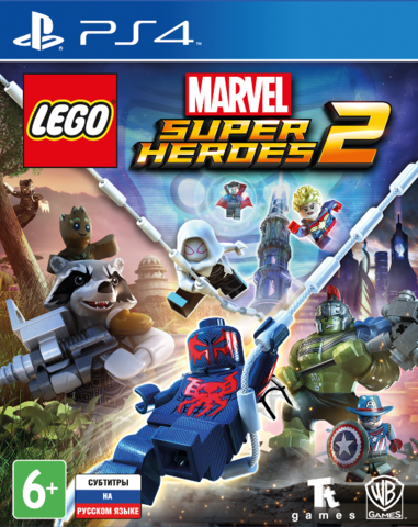 Sony PS4 LEGO Marvel Super Heroes 2 (русские субтитры)