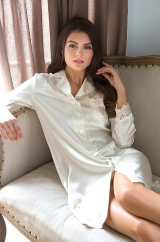Рубашка  женская натуральный шелк  MIA-MIA   Kristy КРИСТИ  15114