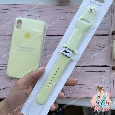 Ремешок Apple watch 38/40mm Sport Band /mellow yellow/ волшебно-желтый
