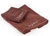 Набор полотенец 2 шт Byblos Cristall коричневый