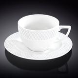 Набор: Чайная чашка 240 мл с блюдцем, артикул WL-880105-JV, производитель - Wilmax