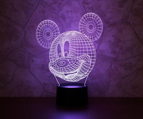 3D светильник Микки Маус