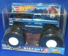 Hot Wheels Monster Lkws 1:24 Riese R?der Bigfoot Neu 2019