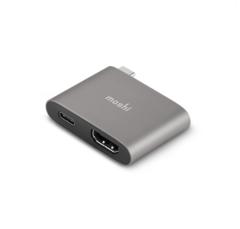 Адаптер Moshi USB-C to HDMI с Функцией Зарядки, 4K 60 Гц / HDR
