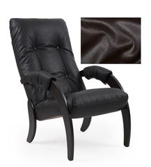 Кресло для отдыха Модель 61 (венге/Vegas lite Amber) Коричневый