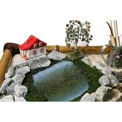 Японский садик с домиком по Вашему фото