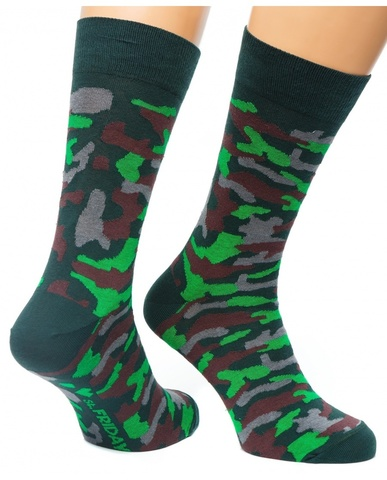 St.Friday Socks Friday Army хаки