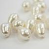 5821 Хрустальный жемчуг Сваровски Crystal Cream грушевидный 11х8 мм
