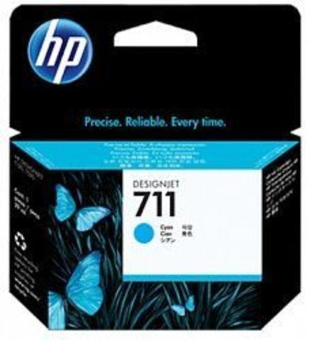 CZ134A - Картридж №711 (Тройная упаковка) голубой HP DesignJet T120/T520 (3х29мл)