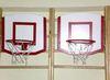 Щит баскетбольный с кольцом, навесной (на гимнастическую стенку)