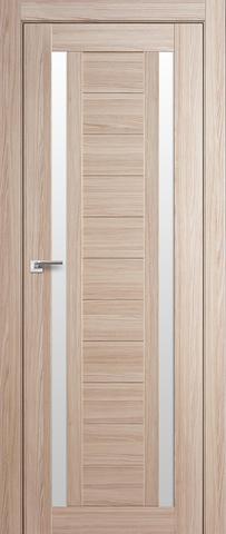 Дверь Profil Doors №15X-Модерн, стекло матовое, цвет капучино мелинга, остекленная