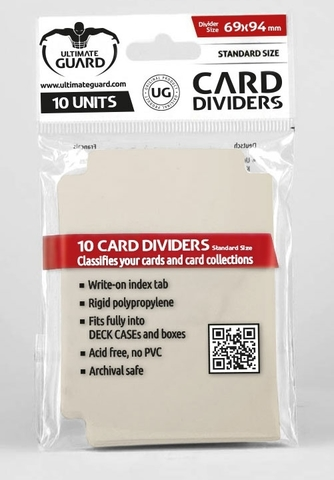 Card Dividers: Sand