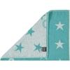 Полотенце 70х140 Cawo Small Stars 525 бирюзовое
