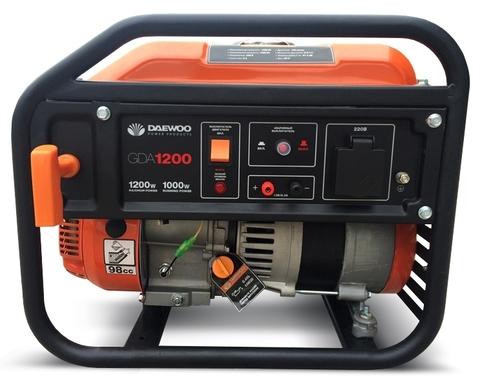 Генератор бензиновый Daewoo GDA 1200  Exspert Line