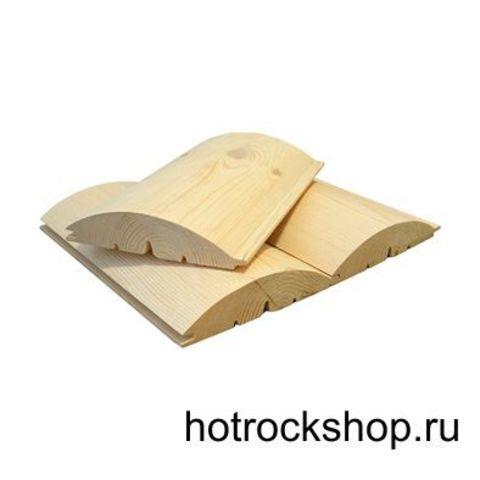 Блок хаус хвоя сорт А 35х190х6000 мм S общ.= 1.14 кв.м