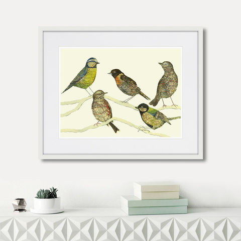 Дженни Капон - Waltz birds №3