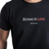 Футболка BoxRaw Boxing Is Love Black