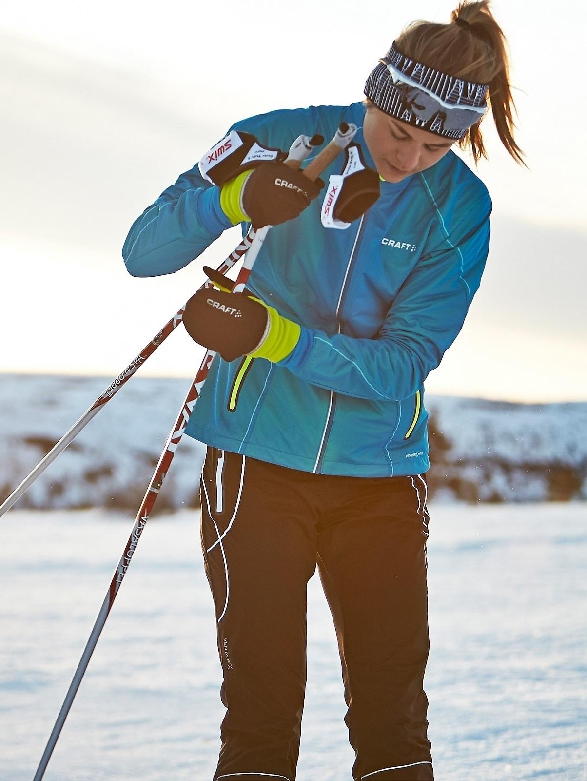 Женский профессиональный лыжный костюм крафт High Function (1903684-1902264) фото