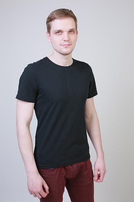 Лекала мужской футболки с коротким рукавом