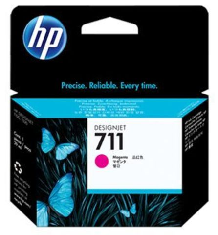 CZ135A - Картридж №711 (Тройная упаковка) пурпурный HP DesignJet T120/T520 (3х29мл)