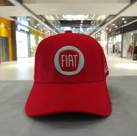 Кепка Фиат красная (Бейсболка Fiat)