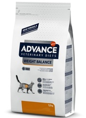 Корм для кошек, Advance Weight Balance, при ожирении