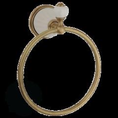 Кольцо Migliore Olivia ML.OLV-60.608.BI.BR белый/бронза