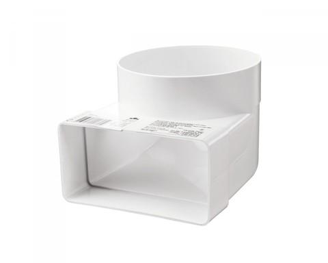 Соединитель угловой 204х60/150 КП пластиковый