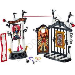 Кукла Монстр Хай Рошель Гойл и Страшная площадка - (Freak du Chic Circus Scaregrounds), Mattel