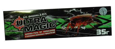 Шприц-гель от тараканов