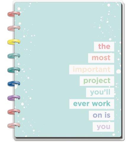 Блокнот в пунктирную линию Classic Happy Notes™- Wellness -  19,5х24,5см