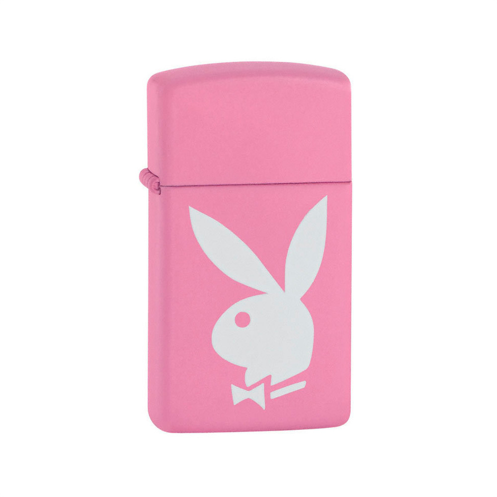 Зажигалка Zippo Slim Pink Playboy № 20831