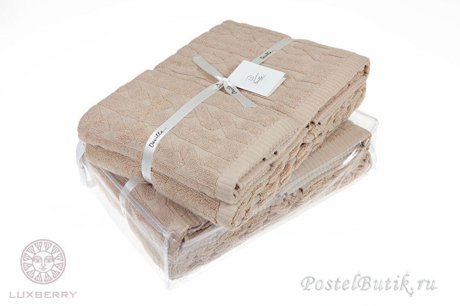 Наборы полотенец Набор полотенец 3 шт Luxberry Imperio какао mahrovoe-polotentse-Imperio-ot-luxberry-kofe.jpg