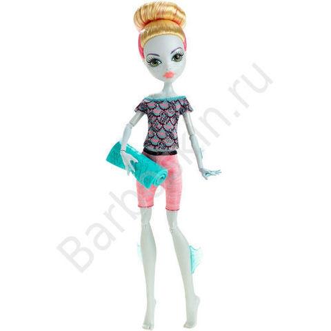 Кукла Monster High Лагуна Блю (Lagoona Blue) - Монстро-фитнес (Fangtastic Fitness), Mattel